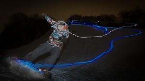 snowskater led lights